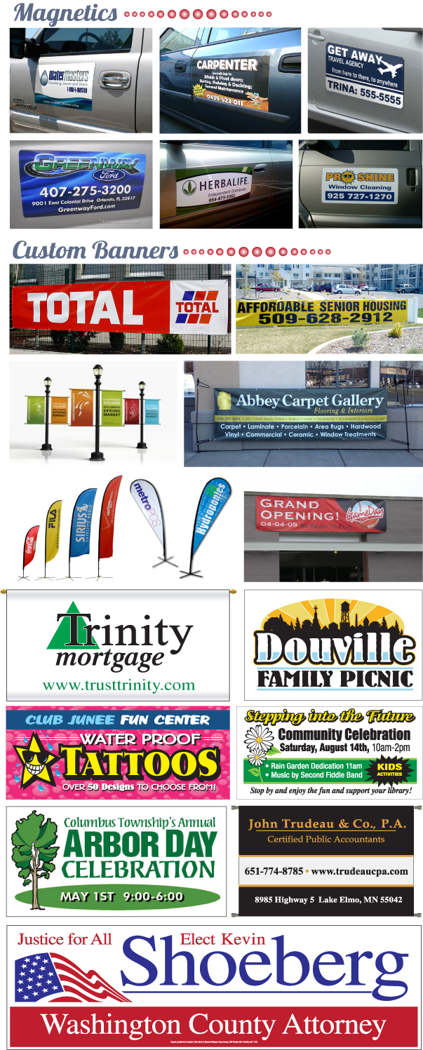 Magnetics & Banners
